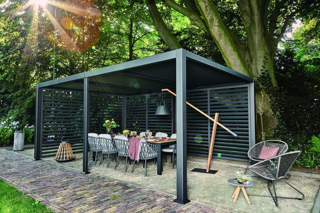 Picture of: Overdaekket Terrasse Lapatio